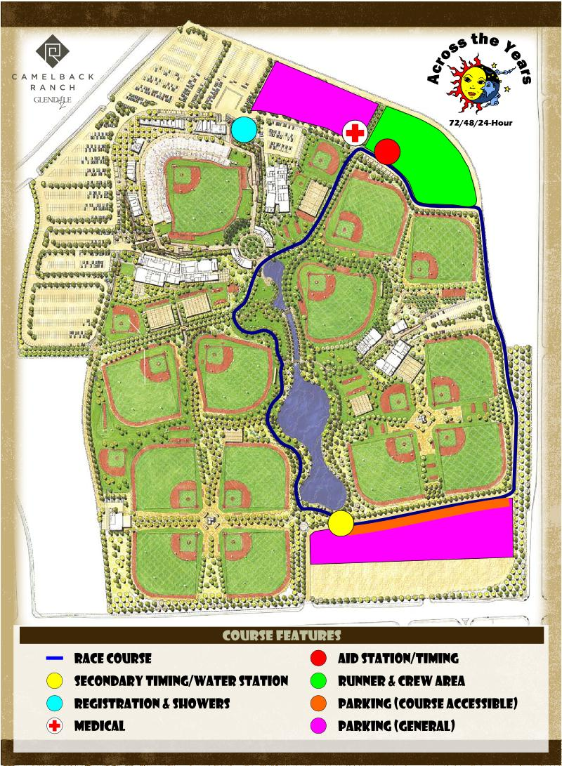 Across the Years, USA, 72-48-24 h : 29/12/2012 - 01/01/2013 Camelback-Ranch-Course